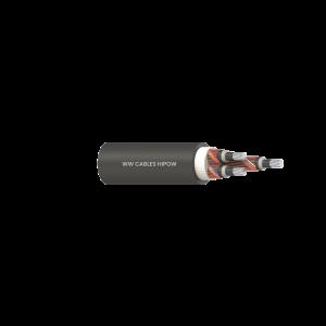 3C 35mm2 AL Cl2/XLPE/CWS(3.3kA/s)/PVC 5V90 6.35/11kV