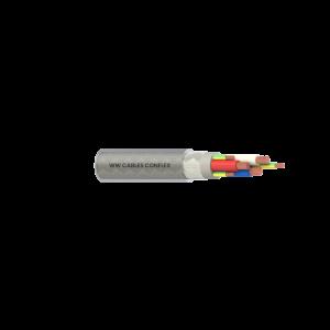 3C+E 6mm2 BC Cl5/PVC/PVC/TCB/PVC V75 Clear 1kV VSD